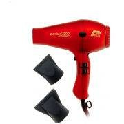 Parlux 3200 Compact Hair Dryer – Red
