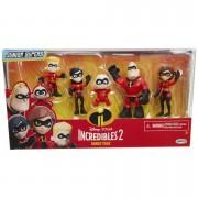 Jakks Pacific Disney Incredibles 2 Precool 3 Inch Figures 2 Family Pack
