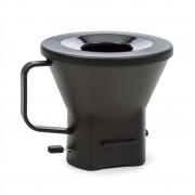 Klarstein Grande Gusto, резервен филтърен държач за кафе машина с капак, без BPA, черен (COF9-)