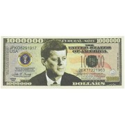 John F. Kennedy (Jfk) Commemorative Million Dollar Case Pack 100