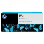 HP 771C 775-ml Light Cyan Designjet Ink Cartridge - B6Y12A