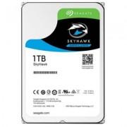 Твърд диск seagate hdd desktop skyhawk guardian surveillance (3.5/1tb/sata 6gb/s/rpm 5900), st1000vx005