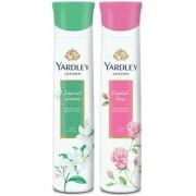 Yardley English Rose Jasmine (Pack of 2) Deo