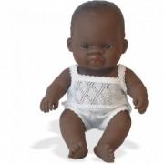 Baby african fetita Papusa 21cm