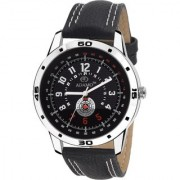 ADAMO Designer Black Dial Men's Wrist Watch A329SL02