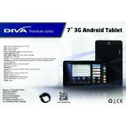 "DIVA PREMIUM 3G GPS DUAL CORE 7"" ANDROID TABLET NAVIGATOR EU ЗА КАМИОН + ПОДАРЪЦИ"