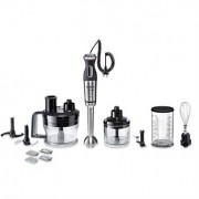 Bosch Mixeur plongeant MaxoMixx métal pied inox 800 W et 6 accessoires MSM88190 Bosch
