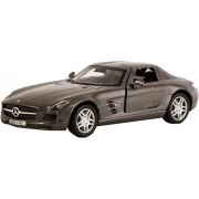 Kinsmart 1:36 Scale Die Cast Mercedes Benz SLS AMG, Silver