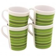Setul de căni Outwell Blossom Mug set 4 buc. Culoarea: verde