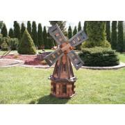 Windmühle Drew-Handel W31 / D 100cm hölzerne Gartendeko