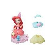 Boneca Hasbro Ariel Disney Princess Mini Princesa e Vestido