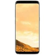 "Telefon Mobil Samsung Galaxy S8 Plus G955, Procesor Octa-Core 2.35GHz / 1.90GHz, Super AMOLED Capacitive touchscreen 6.2"", 4GB RAM, 64GB Flash, 12MP, 4G, Wi-Fi, Dual Sim, Android (Maple Gold)"
