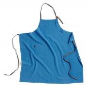 Wrap Kochschürze Himmelblau Hay