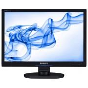 """Philips Monitor Lcd Widescreen 24"""" Philips 240bw9cb/69 1920 X 1200 Vga Refurbished Altoparlanti Integrati"""