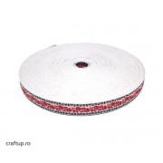 Bandă decorativă Milka Fira 15mm (rolă 25m)