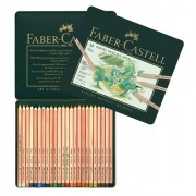 Creioane colorate Pastel Pitt 24 culori Faber-Castell