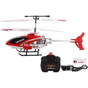 Fashion Hub Brand Infrared Radio Remote Controlled Helicopter with Unbreakable Blades 3 Chanel (Multicolour) 14+ Age