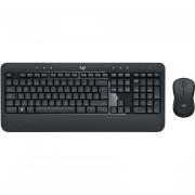 Logitech Mk540 Advanced Kit Mouse E Tastiera Wireless Layout Italiano Colore Ner