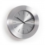 Kave Home Relógio de parede Alessia em prateado