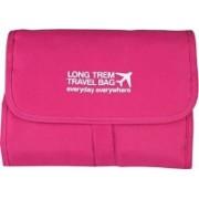 divinz Hanging Craft Cosmetic Organizer Bag - Make Up Bag / Toiletry Bag (Pink)(Pink)