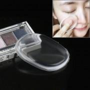 Quadrangle En Forma De Gran Belleza Maquillaje Facial De Silicona Transparente Suave Polvo Cream Puff (transparente)