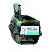 M-PETS Warrior 2-dörr Transportbur i plast