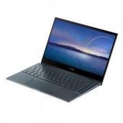 "Лаптоп Asus ZenBook Flip UX363JA-WB711R,NumPad, Intel Core i7-1065G7(8M Cache, up to 3.9 GHz), 13.3""FHD IPS (1920x1080)Touch Glare 60Hz, 16GB LPDDR4 on board, PCIEG3x2 NVME 512G M.2 SSD,TPM,2xThunderbolt,Win10 Pro 64,Illum. Keyb.,USB-C to audio jack adapt"