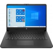 "HP 14s-fq0009nl Computer portatile Nero 35,6 cm (14"") 1366 x 768 Pixel AMD Athlon 4 GB DDR4-SDRAM 256 GB SSD Wi-Fi 5 (802.11ac) Windows 10 Home S"