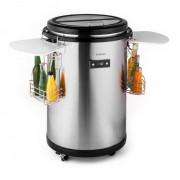 Klarstein Mr. Barbot, хладилник, 50 л, от неръждаема стомана (ICE4-MR.-Barbot)