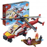 Hélicoptère De Pompier Banbao 7107