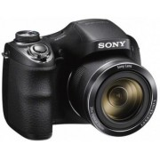 Aparat Foto Digital Sony DSC-H300, 20.1MP, Filmare HD, Zoom Optic 35x (Negru)