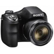 Aparat Foto Digital Sony DSC-H300, 20.1MP, Filmare HD, Zoom Optic 35x (Negru)