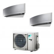 2 Emme Clima Supporti Antivibranti 9898-026 in gomma Nera con Filetto da 8mm, Rondelle e Dadi inclusi 2 Emme Clima
