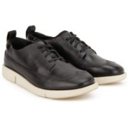 Clarks Tri Nia Sneakers For Women(Black)