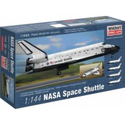 Minicraft 11668 - 1 144 NASA Space Shuttle with decal for Endeavour Atlantis Discovery