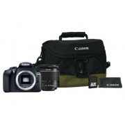 Canon Kit de iniciación Canon EOS 1300D + 18-55mm + Funda + Tarjeta + Gamuza
