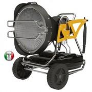 Incalzitor cu motorina cu ardere catalitica tip XL 91 Master cu putere maxima de 43kW si comanda cu termostat