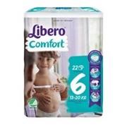 Fraldas comfort 13-20kg, 22 unidades - Libero