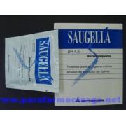 SAUGELLA DERMOLIQUIDO TOALLI 375618 SAUGELLA DERMOLIQUIDO TOALLITAS LIMPIADORAS - (10 TOALLITAS )