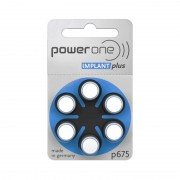 Set baterii auditive Power One Implant VARTA, 6 bucati, P675