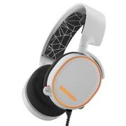 SteelSeries Arctis 5 White RGB 7.1 Surround Геймърски слушалки с микрофон