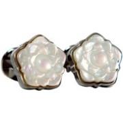 Blacksmithh Shell Cufflink(White)