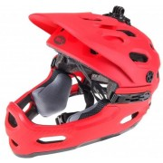 Bell Super 3R Mips Downhill Casco Rojo M