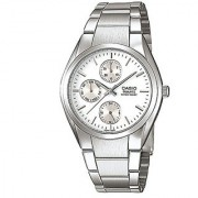 Casio Enticer White Dial Mens Watch - MTP-1191A-7ADF (A165)