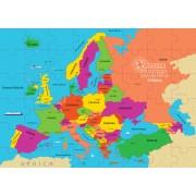 PUZZLE GEOGRAFIC - HARTA EUROPEI (69 PIESE) - DINO TOYS (712133)