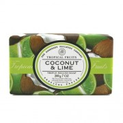 Somerset Toiletry Săpun de lux din hârtie decorativă și nucă de cocos tei (Coconut & Lime Triple Milled Soap) 200 g