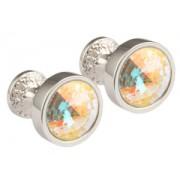 Mousie Bean Crystal Cufflinks Goblet 082 AB