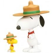 Medicom Peanuts: Beagle Scout Snoopy & Woodstock Ultra Detail Figure