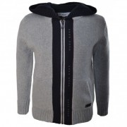 Cardigan cu gluga, HUGO BOSS KIDS