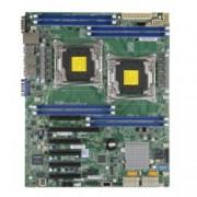 Дънна платка за сървър SuperMicro MBD-X10DRL-I, 2x LGA2011, поддържа ECC DIMM/LRDIMM, 6x PCI-E, Lan1000, 10x SATA3 RAID (0,1,5,10), 4x USB3.0, ATX, bulk package